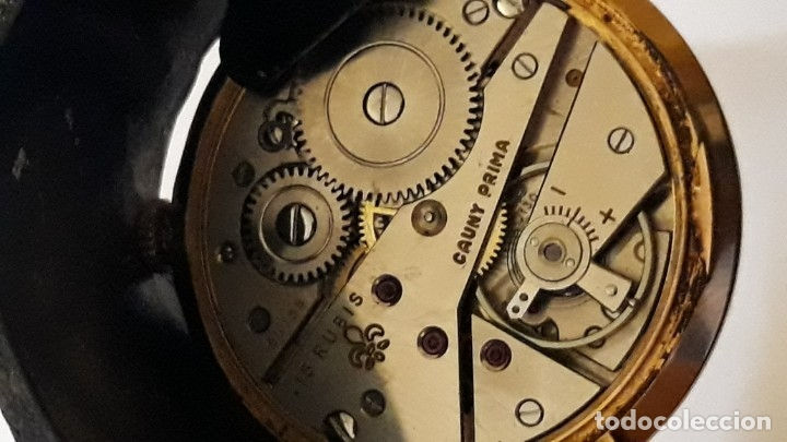 Relojes de pulsera: reloj de pulsera caballero carga manual cauny prima, funciona - Foto 4 - 156240546