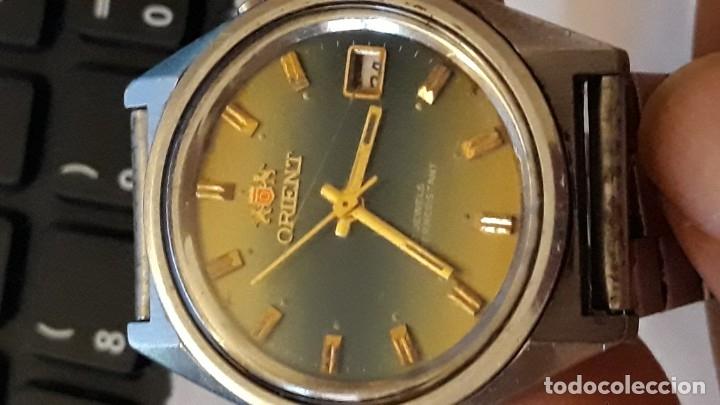Relojes de pulsera: reloj de pulsera caballero carga manual orient 48320 ver descripcion y fotos - Foto 2 - 156246734