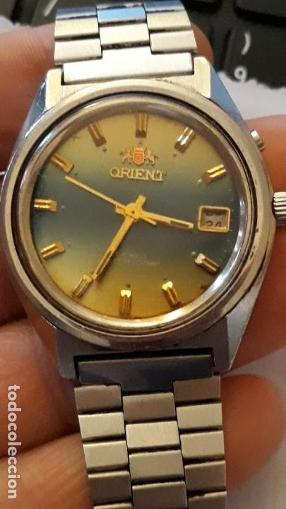 RELOJ DE PULSERA CABALLERO CARGA MANUAL ORIENT 48320 VER DESCRIPCION Y FOTOS (Relojes - Pulsera Carga Manual)