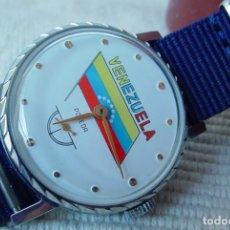 Relojes de pulsera: RELOJ MANUAL RUSO POBEDA VENEZUELA. Lote 156533685