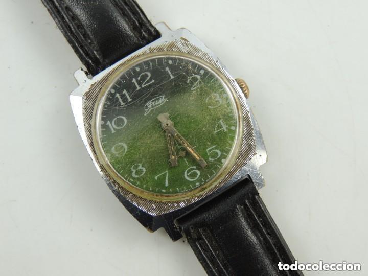 ANTIGUO RELOJ PULSERA DE MARCA ZIM AÑOS 60 USSR RUSIA CARGA MANUAL (Relojes - Pulsera Carga Manual)