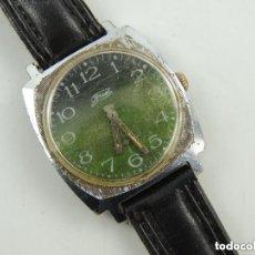 Relojes de pulsera: ANTIGUO RELOJ PULSERA DE MARCA ZIM AÑOS 60 USSR RUSIA CARGA MANUAL. Lote 156555554