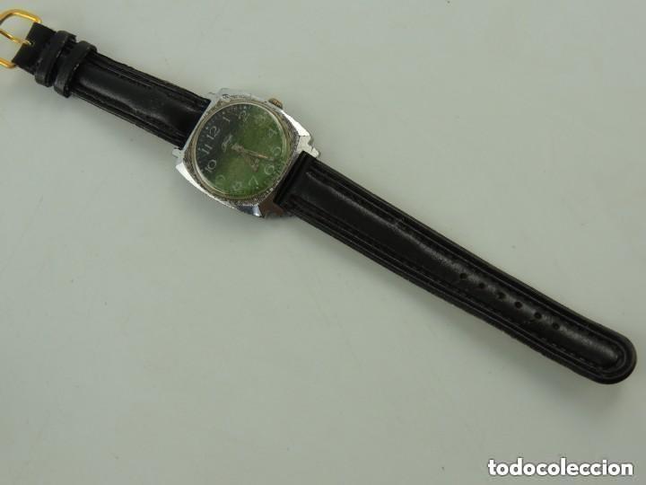Relojes de pulsera: Antiguo Reloj Pulsera de Marca Zim Años 60 USSR Rusia Carga Manual - Foto 2 - 156555554