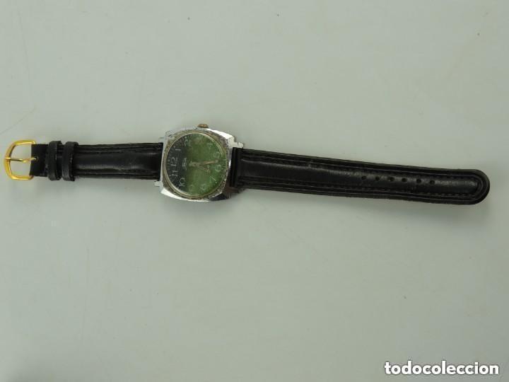 Relojes de pulsera: Antiguo Reloj Pulsera de Marca Zim Años 60 USSR Rusia Carga Manual - Foto 3 - 156555554