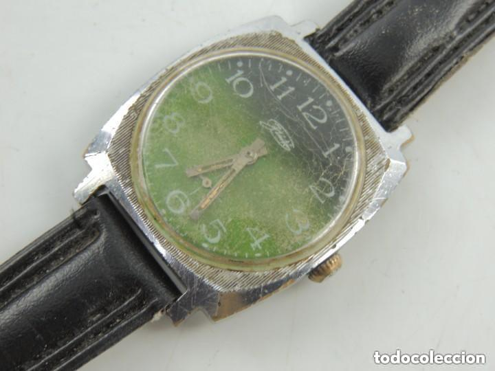 Relojes de pulsera: Antiguo Reloj Pulsera de Marca Zim Años 60 USSR Rusia Carga Manual - Foto 7 - 156555554