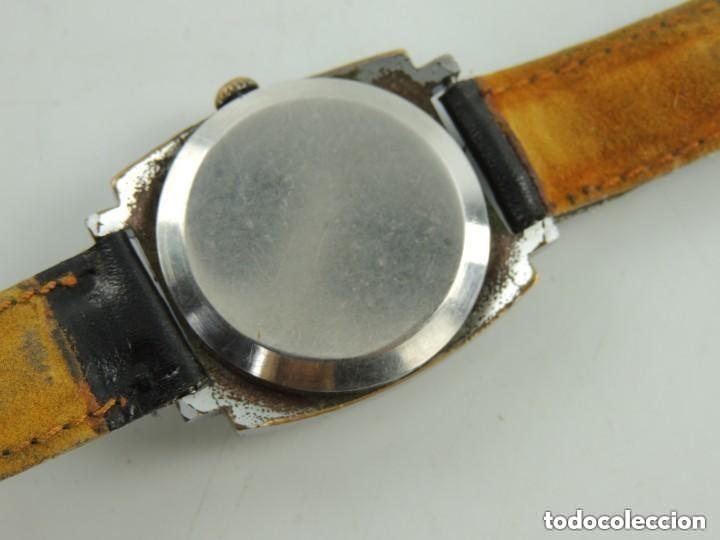 Relojes de pulsera: Antiguo Reloj Pulsera de Marca Zim Años 60 USSR Rusia Carga Manual - Foto 8 - 156555554
