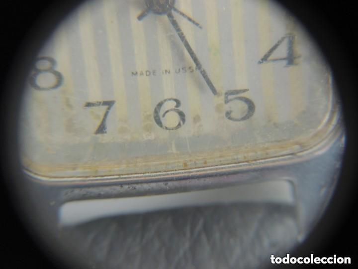 Relojes de pulsera: Antiguo Reloj Pulsera de Marca Raketa con Calendario Años 60 USSR Rusia Carga Manual - Foto 10 - 156555690