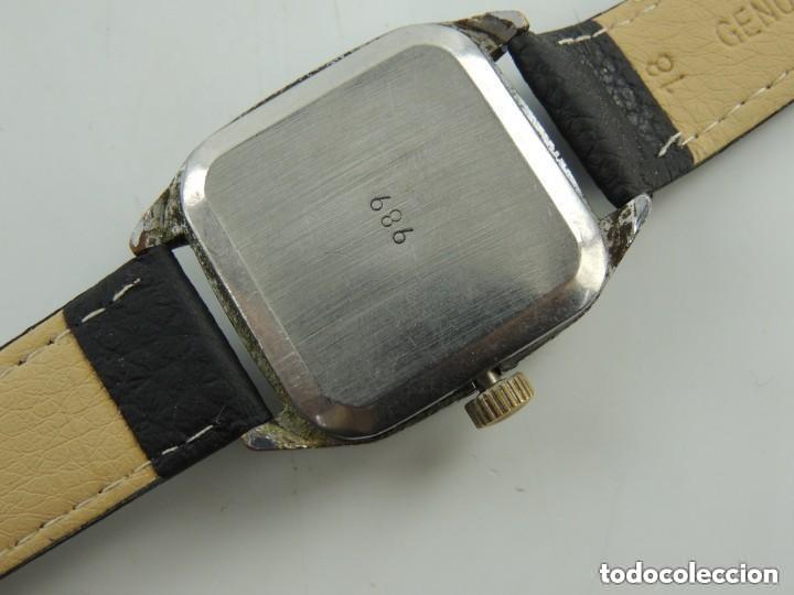 Relojes de pulsera: Antiguo Reloj Pulsera de Marca Raketa con Calendario Años 60 USSR Rusia Carga Manual - Foto 15 - 156555690