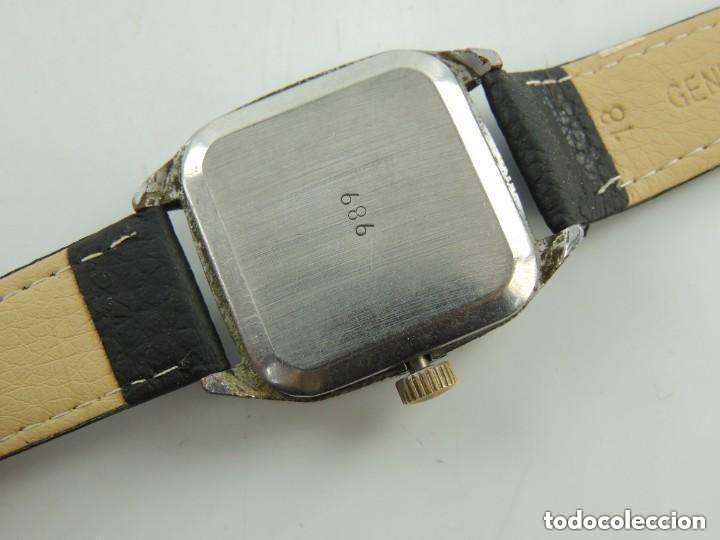 Relojes de pulsera: Antiguo Reloj Pulsera de Marca Raketa con Calendario Años 60 USSR Rusia Carga Manual - Foto 18 - 156555690