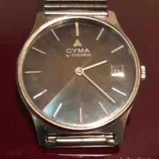 Relojes de pulsera: RELOJ CYMA BU SYNCHRON. Lote 156602581