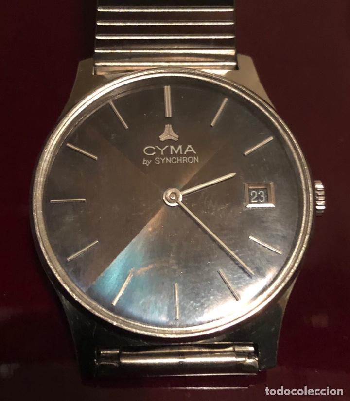 Relojes de pulsera: Reloj Cyma bu synchron - Foto 2 - 156602581