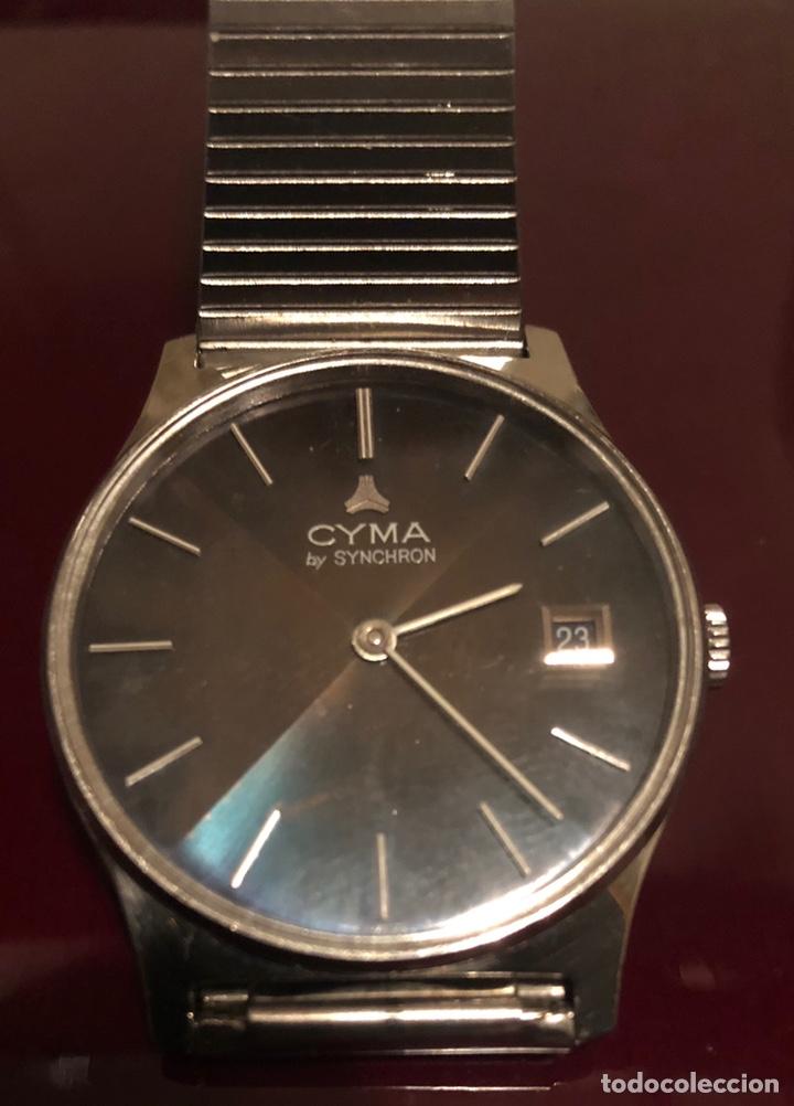 Relojes de pulsera: Reloj Cyma bu synchron - Foto 3 - 156602581