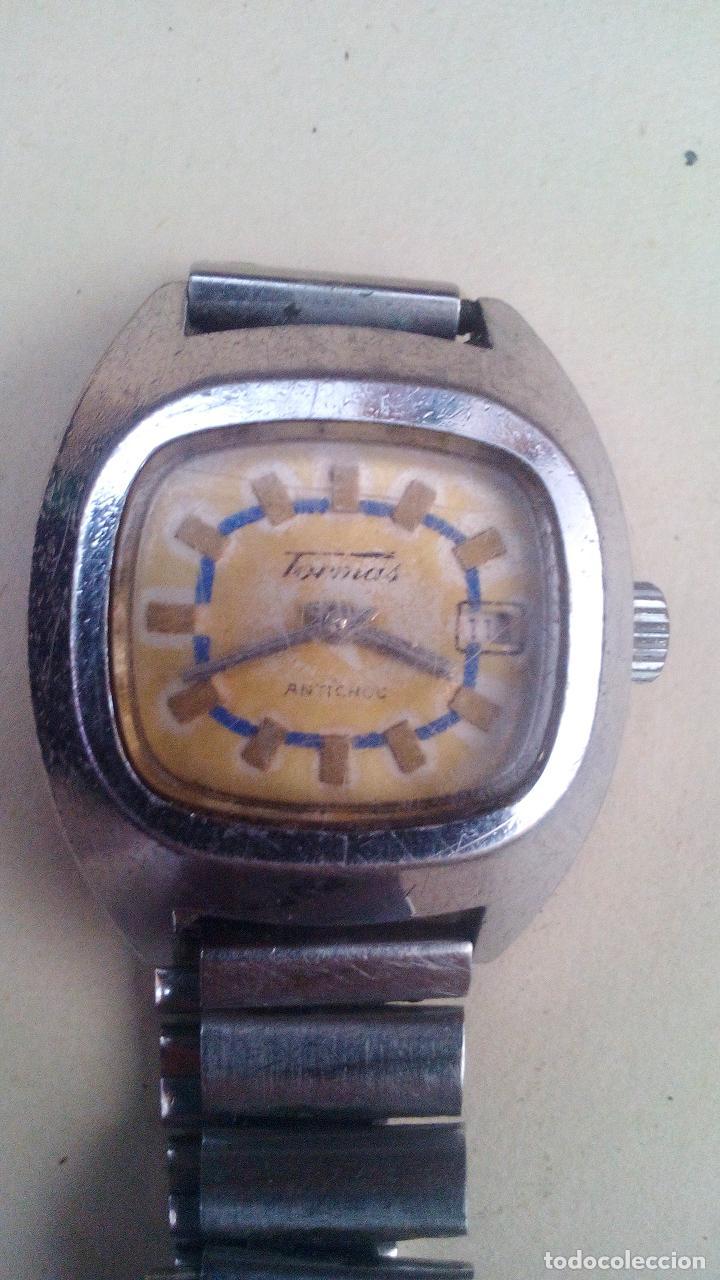 RELOJ PULSERA TORMAS - ANTICHOC (Relojes - Pulsera Carga Manual)