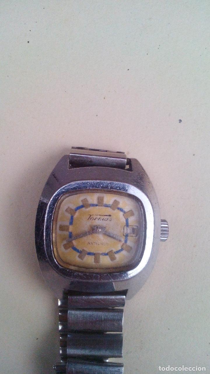 Relojes de pulsera: RELOJ PULSERA TORMAS - ANTICHOC - Foto 2 - 157030394