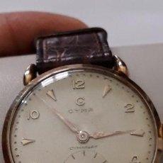 Relojes de pulsera: RELOJ DE PULSERA CABALLERO CARGA MANUAL CYMA CYMAFLEX ORO 18 KT, EN BUEN ESTADO, DESCRIPCION Y FOTOS. Lote 157248854