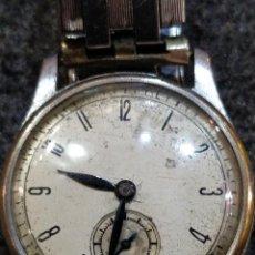 Relojes de pulsera: RELOJ AÑOS 50 CON PULSERA ELÁSTICA DE ACERO INOXIDABLE STARFLEX, CUERDA DIARIA. Lote 157325146