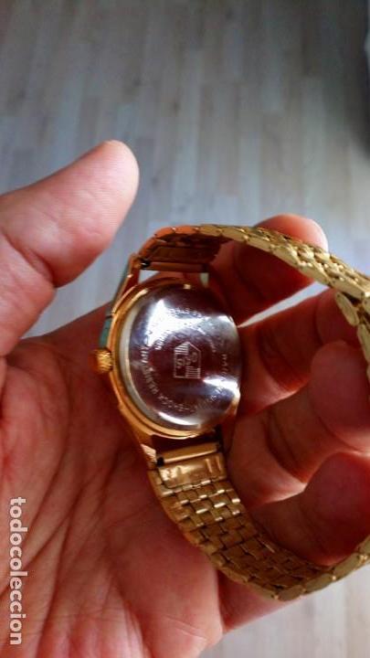 Relojes de pulsera: VINTAGE RELOJ ORIS DORADO DEPORTIVO SUIZO CUERDA - Foto 4 - 157800214