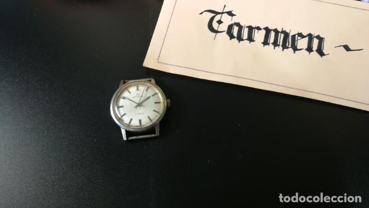 RELOJ BAYLOR DE CUERDA TODO ORIGINAL, DI CUERDA ANDÓ UN RATO T SE PARÓ, ANTIQUÉ, 17 RUBIES (Relojes - Pulsera Carga Manual)