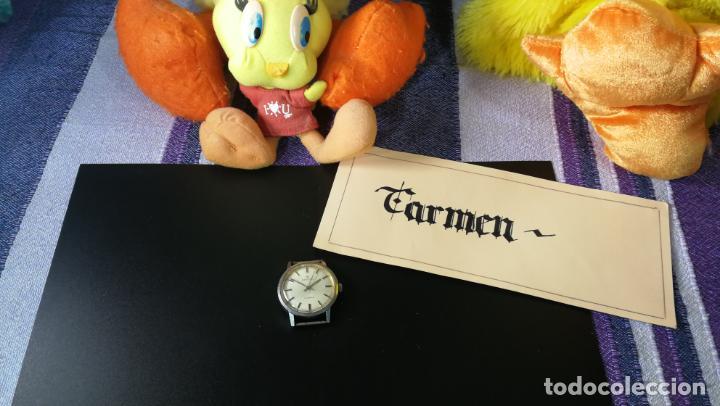 Relojes de pulsera: Reloj BAYLOR de cuerda todo original, di cuerda andó un rato t se paró, antiqué, 17 rubies - Foto 2 - 157988738