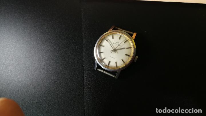 Relojes de pulsera: Reloj BAYLOR de cuerda todo original, di cuerda andó un rato t se paró, antiqué, 17 rubies - Foto 3 - 157988738