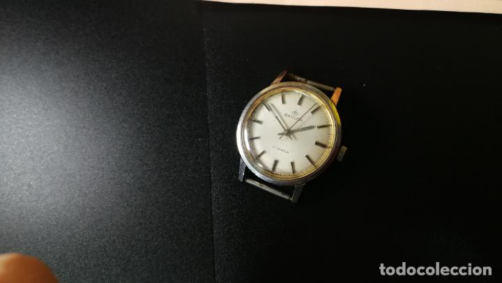 Relojes de pulsera: Reloj BAYLOR de cuerda todo original, di cuerda andó un rato t se paró, antiqué, 17 rubies - Foto 4 - 157988738