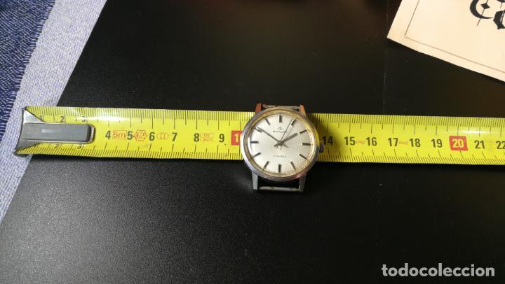 Relojes de pulsera: Reloj BAYLOR de cuerda todo original, di cuerda andó un rato t se paró, antiqué, 17 rubies - Foto 7 - 157988738