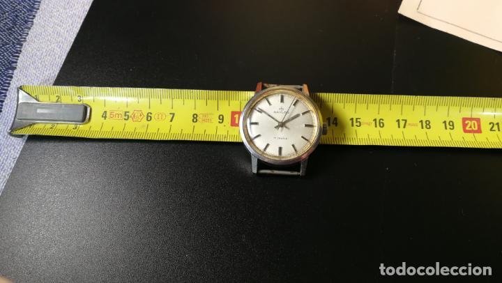 Relojes de pulsera: Reloj BAYLOR de cuerda todo original, di cuerda andó un rato t se paró, antiqué, 17 rubies - Foto 8 - 157988738