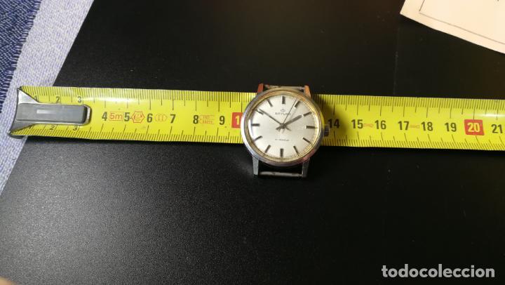 Relojes de pulsera: Reloj BAYLOR de cuerda todo original, di cuerda andó un rato t se paró, antiqué, 17 rubies - Foto 9 - 157988738