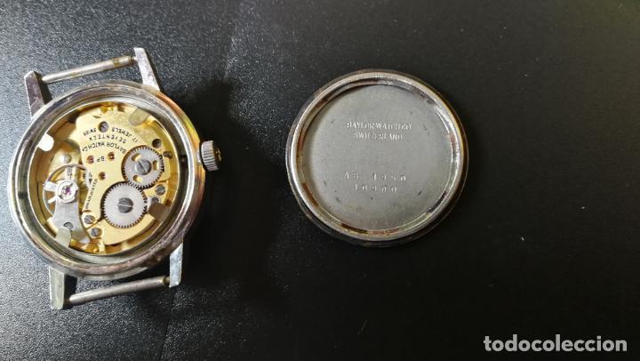 Relojes de pulsera: Reloj BAYLOR de cuerda todo original, di cuerda andó un rato t se paró, antiqué, 17 rubies - Foto 12 - 157988738