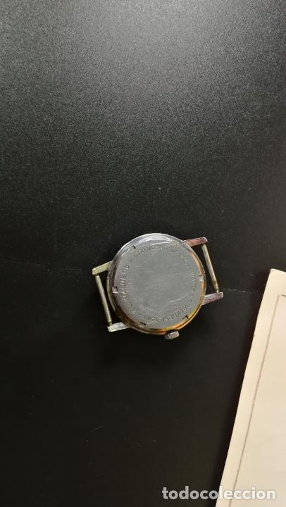 Relojes de pulsera: Reloj BAYLOR de cuerda todo original, di cuerda andó un rato t se paró, antiqué, 17 rubies - Foto 11 - 157988738