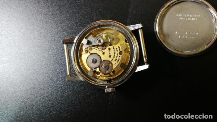 Relojes de pulsera: Reloj BAYLOR de cuerda todo original, di cuerda andó un rato t se paró, antiqué, 17 rubies - Foto 14 - 157988738
