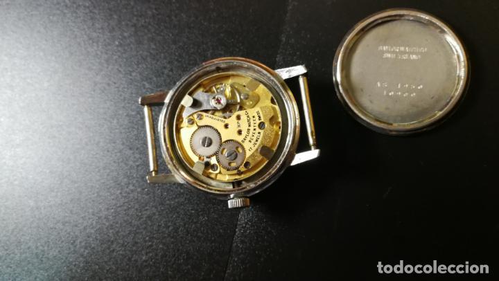Relojes de pulsera: Reloj BAYLOR de cuerda todo original, di cuerda andó un rato t se paró, antiqué, 17 rubies - Foto 15 - 157988738