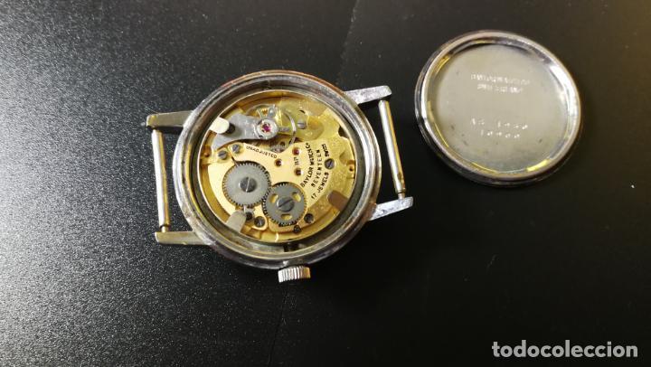 Relojes de pulsera: Reloj BAYLOR de cuerda todo original, di cuerda andó un rato t se paró, antiqué, 17 rubies - Foto 16 - 157988738