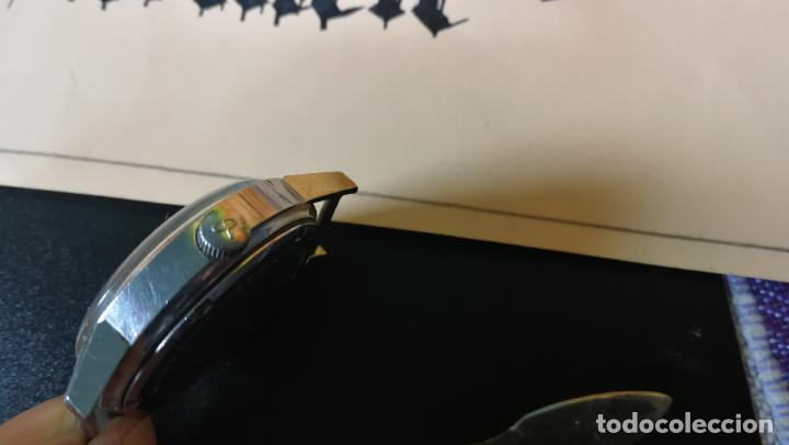 Relojes de pulsera: Reloj BAYLOR de cuerda todo original, di cuerda andó un rato t se paró, antiqué, 17 rubies - Foto 20 - 157988738
