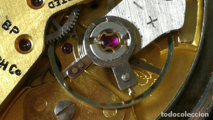 Relojes de pulsera: Reloj BAYLOR de cuerda todo original, di cuerda andó un rato t se paró, antiqué, 17 rubies - Foto 28 - 157988738