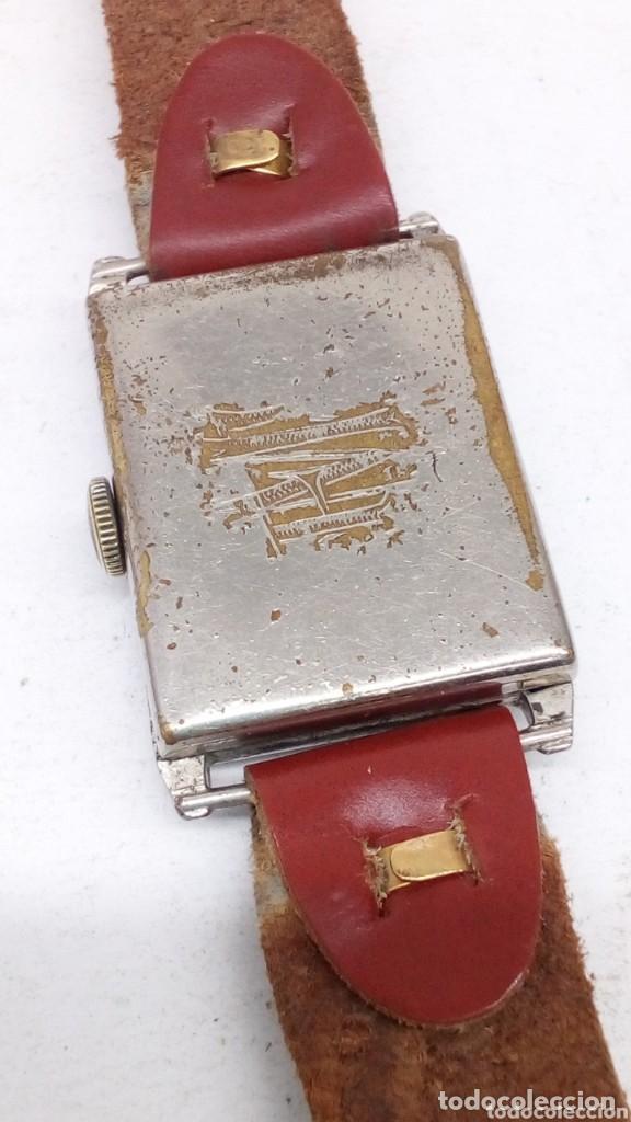 Relojes de pulsera: antiguo reloj del abuelo año 1890,restaurada a una maq suiza en el año 50 funciona bien - Foto 2 - 158027126