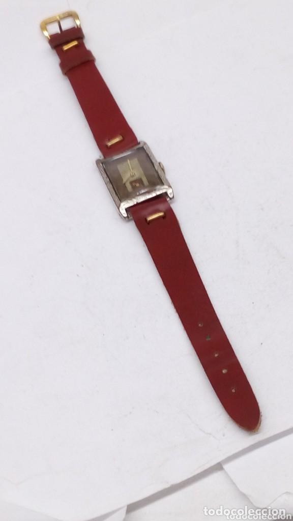 Relojes de pulsera: antiguo reloj del abuelo año 1890,restaurada a una maq suiza en el año 50 funciona bien - Foto 3 - 158027126