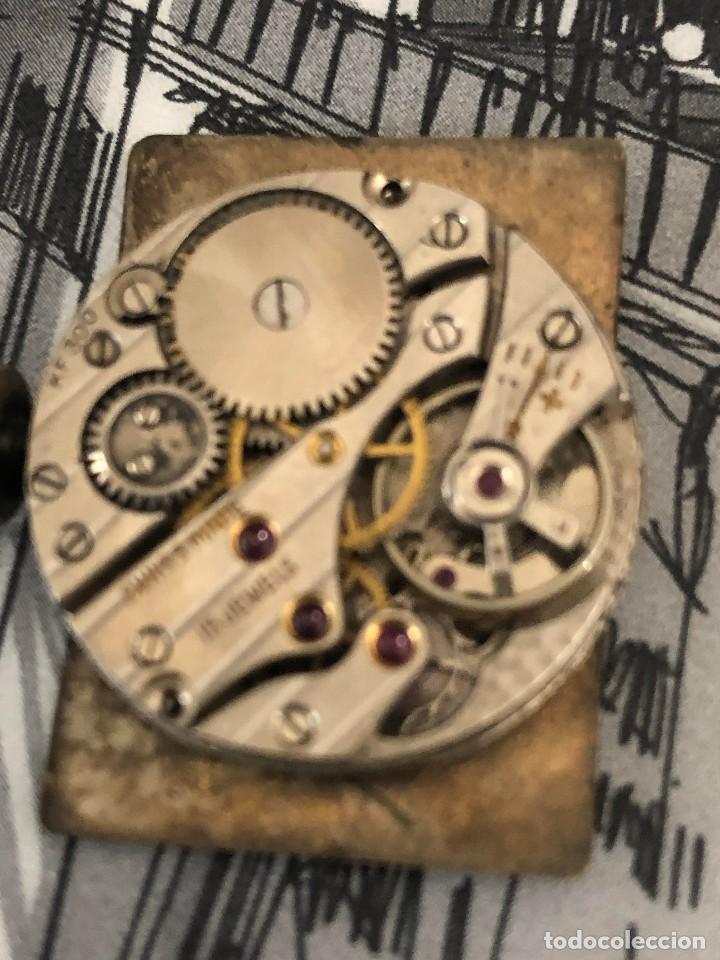 Relojes de pulsera: antiguo reloj del abuelo año 1890,restaurada a una maq suiza en el año 50 funciona bien - Foto 5 - 158027126