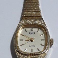 Relojes de pulsera: BONITO RELOJ Q&Q JAPAN SEÑORA. Lote 158169684