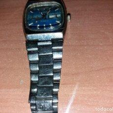 Relojes de pulsera: ANTIGUO RELOJ RUSO DE CUERDA, 38 MM SCC, MANTIENE BIEN LA HORA, TIENE ESLABONES CORREA CHAFADOS.. Lote 158325450