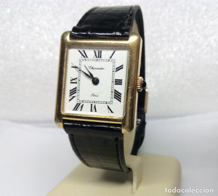RELOJ THERMIDOR PARIS DE CARGA MANUAL 17 JEWELS - CAJA 25 MM - FUNCIONANDO (Relojes - Pulsera Carga Manual)