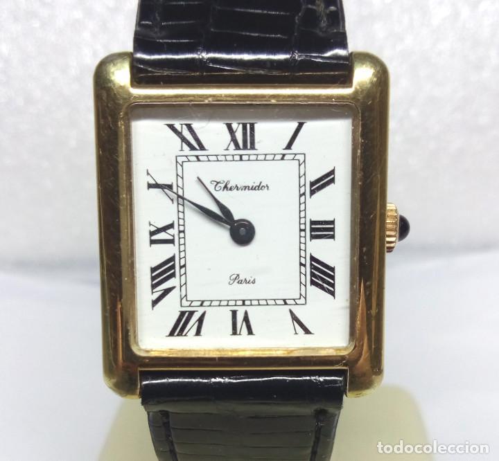 Relojes de pulsera: RELOJ THERMIDOR PARIS DE CARGA MANUAL 17 JEWELS - CAJA 25 mm - FUNCIONANDO - Foto 2 - 184751241