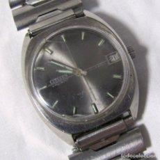 Relojes de pulsera: RELOJ DE CUERDA CITIZEN VALIANT CORREA METÁLICA, FUNCIONANDO. Lote 158567742