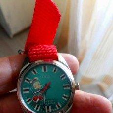Relojes de pulsera: VINTAGE RELOJ ORIS SUIZO CUERDA MICKEY MOUSE. NUEVO. Lote 158745718