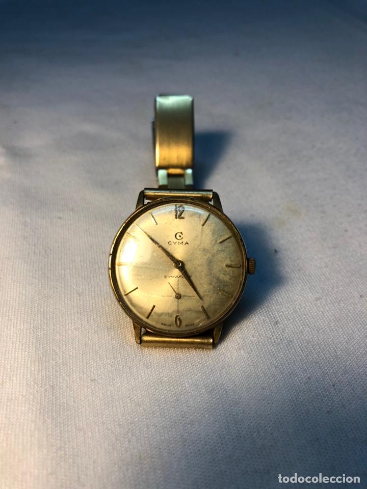 """RELOJ """"CYMA"""" CIMAFLEX, BAÑADO EN ORO. (Relojes - Pulsera Carga Manual)"""