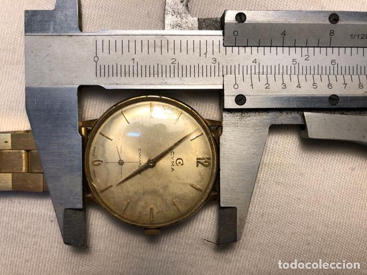 """Relojes de pulsera: Reloj """"Cyma"""" Cimaflex, bañado en oro. - Foto 2 - 158868113"""