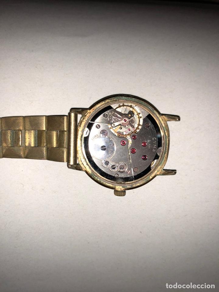 """Relojes de pulsera: Reloj """"Cyma"""" Cimaflex, bañado en oro. - Foto 3 - 158868113"""