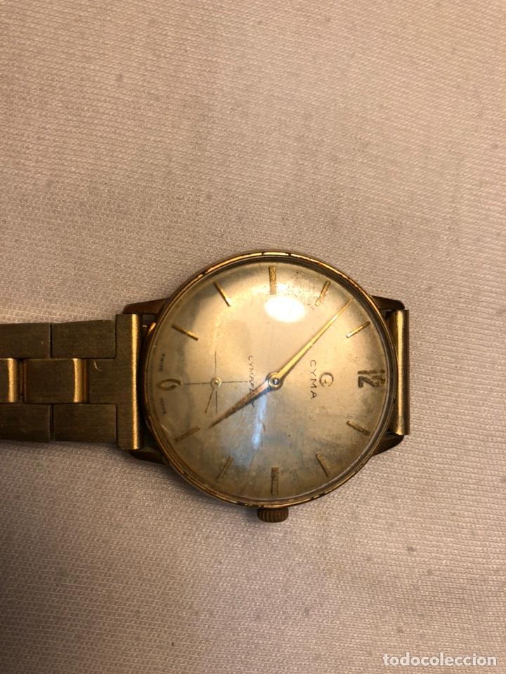 """Relojes de pulsera: Reloj """"Cyma"""" Cimaflex, bañado en oro. - Foto 5 - 158868113"""