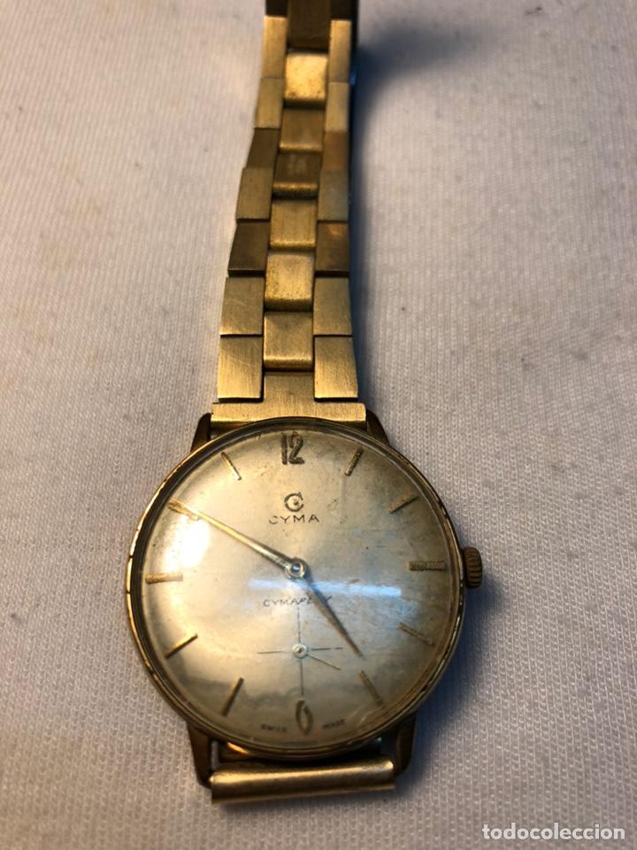 """Relojes de pulsera: Reloj """"Cyma"""" Cimaflex, bañado en oro. - Foto 9 - 158868113"""