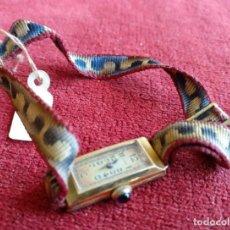 Relojes de pulsera: RELOJ DE PULSERA DE SEÑORA AÑOS 30 MARCA LARA. FUNCIONA. Lote 192635176